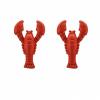 Rode kreeft manchetknope