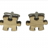 houten manchetknopen puzzel
