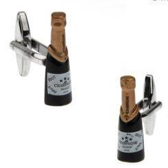 Champagne manchetknopen