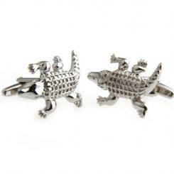 Krokodil manchetknopen
