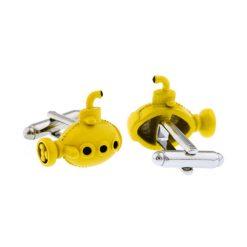Yellow submarine manchetknopen