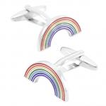 Regenboog manchetknopen gay pride