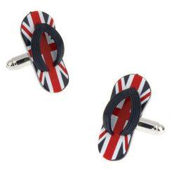Britse slippers manchetknopen