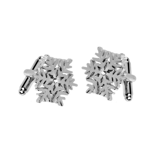 Sneeuwvlok manchetknopen