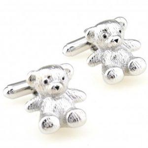 Teddybeer manchetknopen