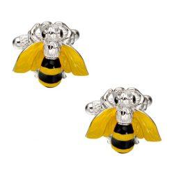 Bijen manchetknopen