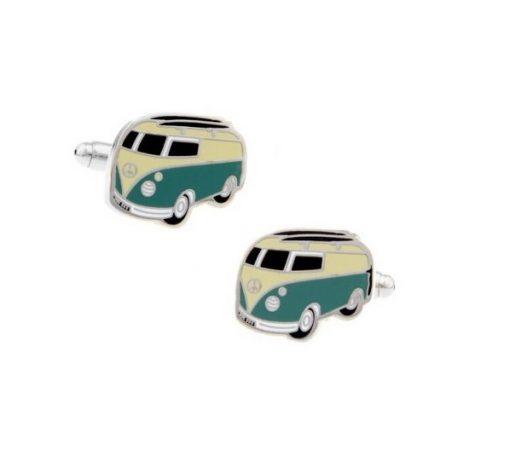 Hippy Bus manchetknopen