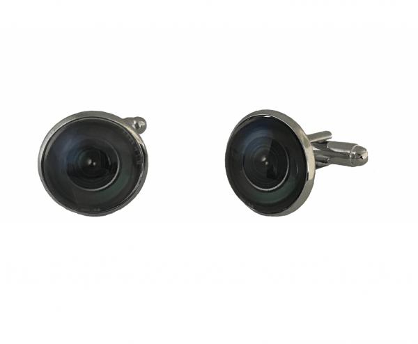 Camera lens manchetknopen