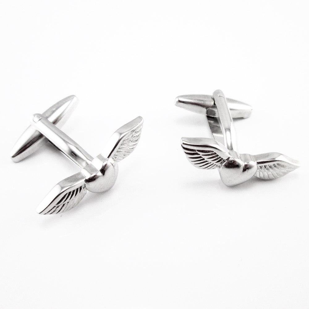 Hart met vleugels manchetknopen