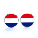 Nederlandse vlag manchetknopen